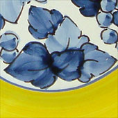 Grapes, Yellow, Blue
