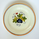 Figs. Bread plate (SQ18) - Antique Fruit (FRA001)