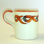 Shape: CM10 Mug cylindrical w.handle