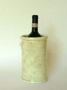 Bottle holder Bianco Antico
