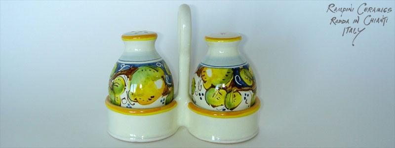 Salt and pepper set (SPP0) - Lemon Liquor (LMC001)