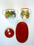 Sugar and creamer set (FRR001)