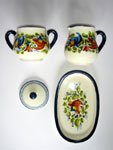Sugar and creamer set (LCH001)